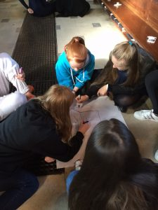 Young people at Wellington College participating in a SEEd workshop