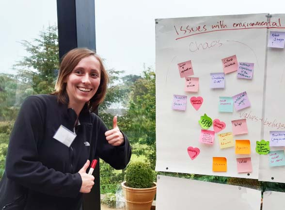 Beth on the Changemaker course
